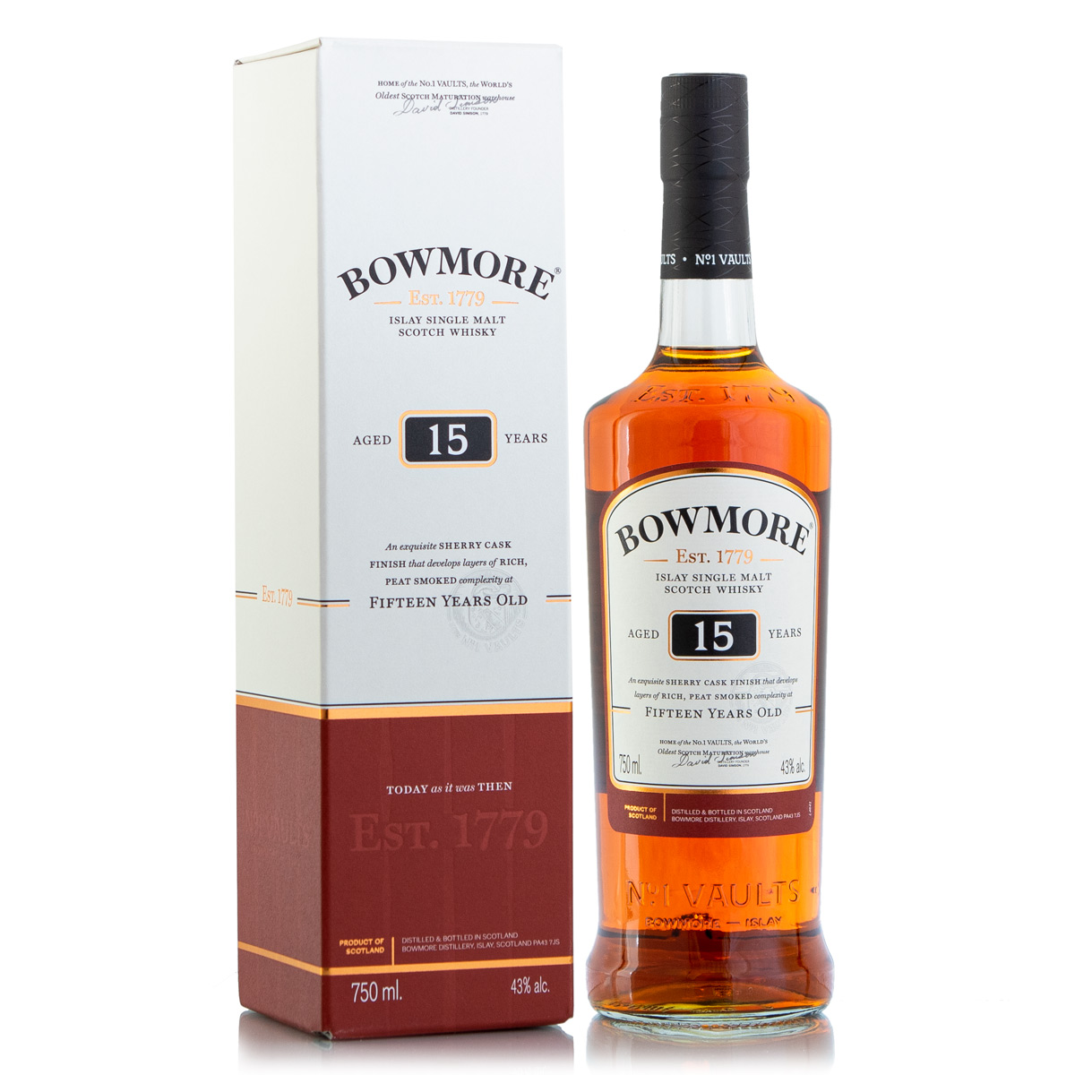 Bowmore Darkest 15